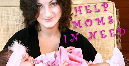 Help Moms with New Lives.
